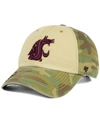'47 Brand Washington State Cougars Operation Hat Trick Gordie Clean Up Cap Camo Beige