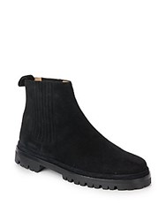 Helmut Lang Leather Chelsea Boots Black