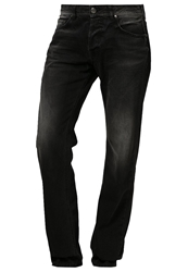 Ltb Paul Straight Leg Jeans Egmont Wash Black Denim