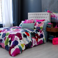 Bluebellgray Abstract Duvet Cover Super King