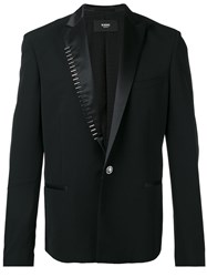 Versus Studded Trim Blazer Black