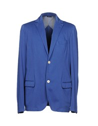 Royal Hem Blazers Blue