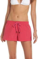 Vilebrequin Oursinade Cover Up Shorts Groseille