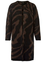 Selected Femme Dabby Cardigan Brown Chocolate Torte