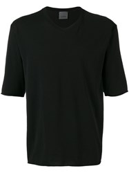 Laneus Half Sleeve T Shirt Black