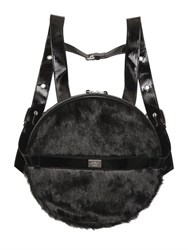 Cheap Monday Faux Fur Round Back Pack