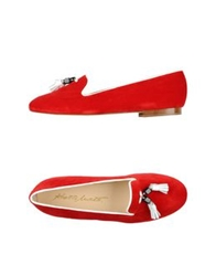 Alberto Moretti Arfango Arfango Alberto Moretti Moccasins Red