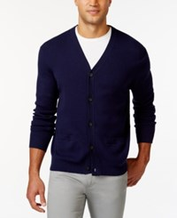 Club Room Big And Tall V Neck Cardigan Only At Macy's