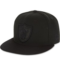 New Era Poly Tone 59Fifty Oakland Raiders Fitted Cap Team Colour