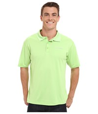 Columbia Pfg Zero Rules S S Polo Jade Lime Men's Short Sleeve Pullover Green