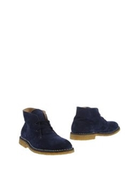 Alberto Moretti Arfango Arfango Alberto Moretti Ankle Boots Dark Blue