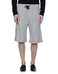 James Perse Standard Trousers Bermuda Shorts Men Grey