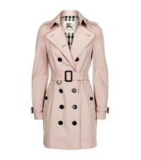 Burberry London The Sandringham Mid Length Heritage Trench Coat Female Brown
