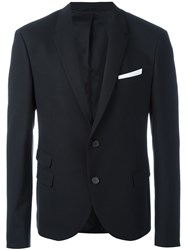 Neil Barrett Flap Pocket Blazer Black