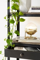 Anthropologie Equator Table Lamp Gold