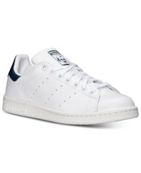 Adidas Men's Originals Stan Smith Casual Sneakers From Finish Line White Cobalt Blue