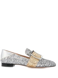 Bally Janelle Loafers Silver