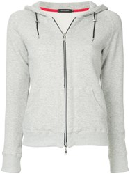 Loveless Zipped Hoodie Grey