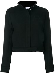 Courreges Classic Fitted Jacket Wool Black