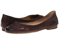 Frye Carson Ballet Dark Brown Antique Soft Full Grain Women's Flat Shoes