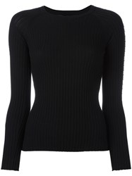 Alexander Wang Crew Neck Jumper Black