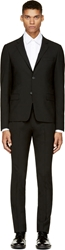 Kenzo Black Fitted Two Piece Suit