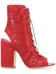 Laurence Dacade Nelly Boots Red