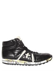 Premiata Adam Leather High Top Sneakers