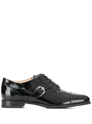 Tod's Buckle Detail Brogues Black