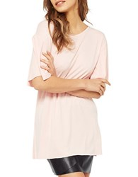 Miss Selfridge Strappy Frill Sleeve Tunic Taupe