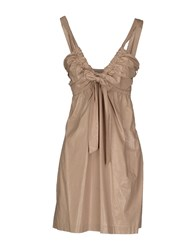Manuel Ritz Dresses Short Dresses Women Beige
