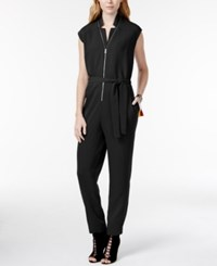 Rachel Rachel Roy Cap Sleeve Zipper Detail Jumpsuit