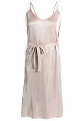 Storm And Marie Erin Cocktail Dress Party Dress Metallic Gold