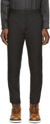 3.1 Phillip Lim Black Cropped Trousers