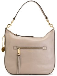 Marc Jacobs 'Recruit' Hobo Shoulder Bag Grey