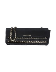 Elisabetta Franchi Gold Under Arm Bags Black