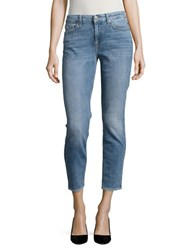 7 For All Mankind Super Skinny Ankle Jeans Gold