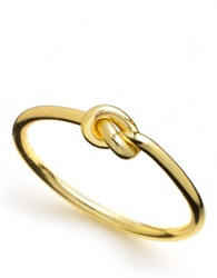 Lord And Taylor 18K Gold Over Sterling Silver Knot Ring