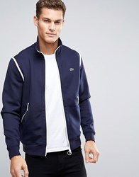 Lacoste Live Track Jacket In Navy Navy