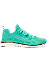 Athletic Propulsion Labs Prism Mesh And Rubber Sneakers Light Green