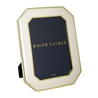 Ralph Lauren Home Becker Frame 5X7 Cream Brass