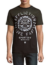 Affliction Athletic Army Short Sleeve Tee Black