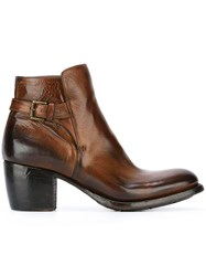 Silvano Sassetti Ankle Boots Brown