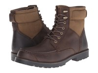 Dockers Fairford Dark Brown Distressed Crazyhorse Men's Lace Up Boots