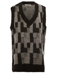 Anrealage Knitted Tunic Vest Grey
