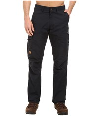 Fjall Raven Karl Trousers Dark Navy Men's Casual Pants