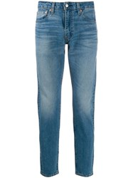 Levi's Slim Faded Jeans Blue
