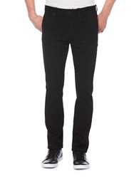 Perry Ellis Slim Fit Five Pocket Denim Pants Black