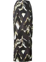 Kenzo 'Mountains' Maxi Skirt Black