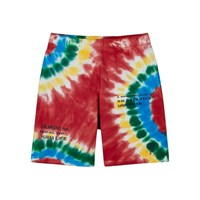 Billionaire Boys Club Tie Dye Cotton Shorts Red